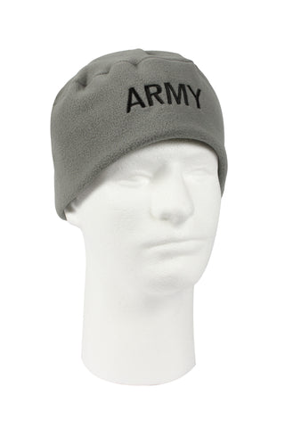 Military Embroidered Polar Fleece Watch Caps - Delta Survivalist
