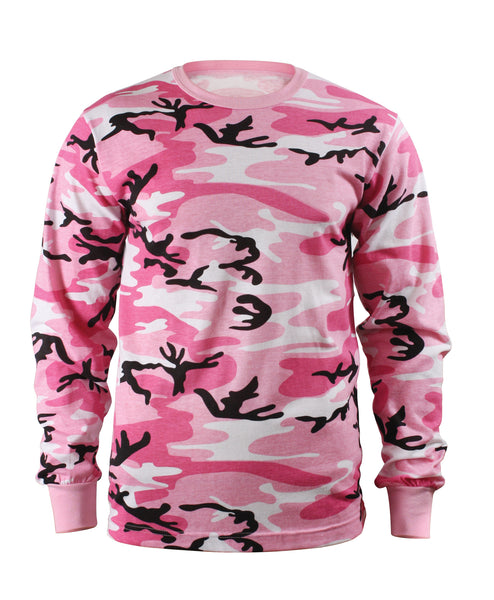 Long-Sleeve Camo T-Shirt