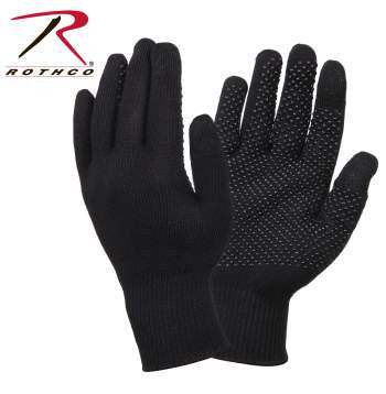Touch Screen Gloves With Gripper Dots - Delta Survivalist