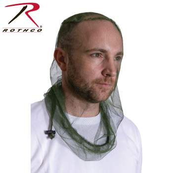 Deluxe Long Length Mosquito Headnet