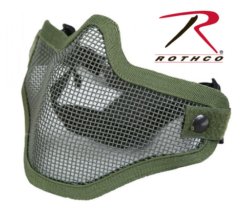 Bravo Tac Gear Strike Steel Half Face Mask - Delta Survivalist