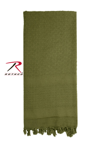 Solid Color Shemagh Tactical Desert Scarf - Delta Survivalist