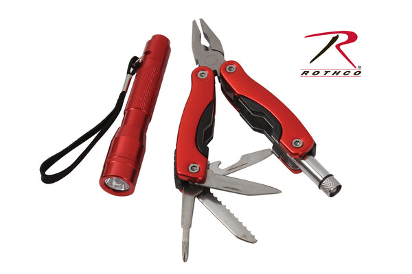 Multi Tool / Flashlight Gift Set - Delta Survivalist