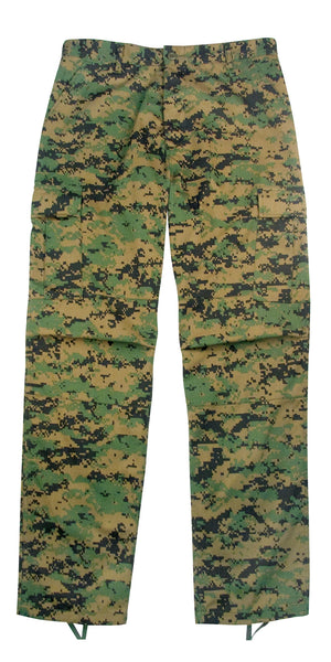 Digital Camo BDU Pants - Delta Survivalist