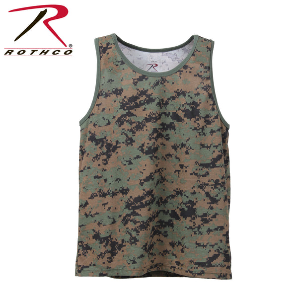 Camo Tank Top - Delta Survivalist