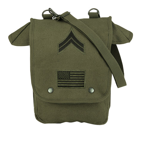 Canvas Map Case Shoulder Bag - Delta Survivalist