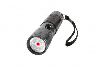 LED Flashlight w/ Red Laser Pointer - Delta Survivalist