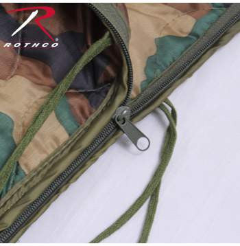 GI Type Rip-Stop Poncho Liner With Zipper - Delta Survivalist