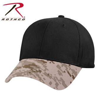 Camo Two-Tone Low Profile Cap - Delta Survivalist