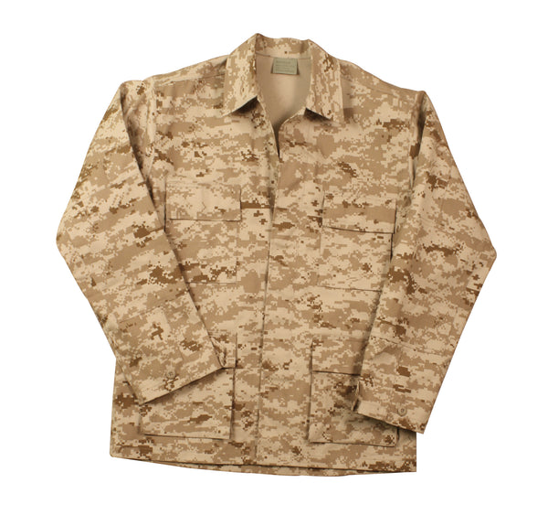 Digital Camo BDU Shirts - Delta Survivalist