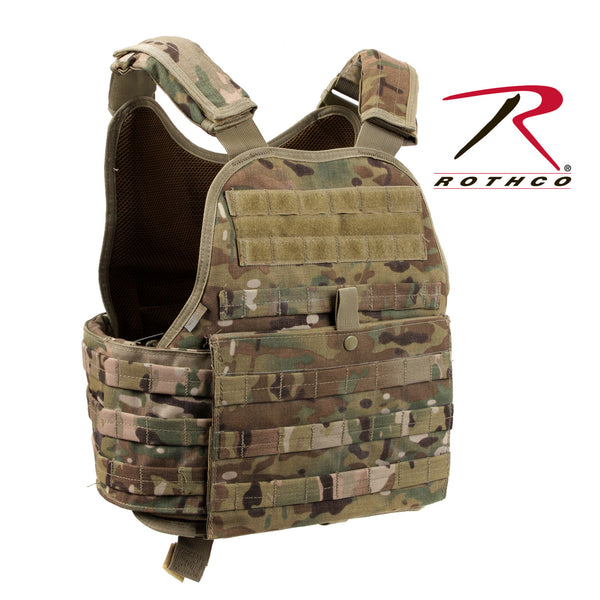 MultiCam MOLLE Plate Carrier Vest - Delta Survivalist