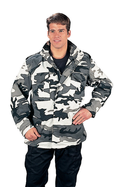 M-65 Camo Field Jacket - Delta Survivalist