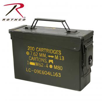.30 & .50 Caliber Ammo Cans