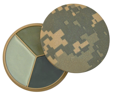 Digital Camo 3 Color Face Paint Compact - Delta Survivalist