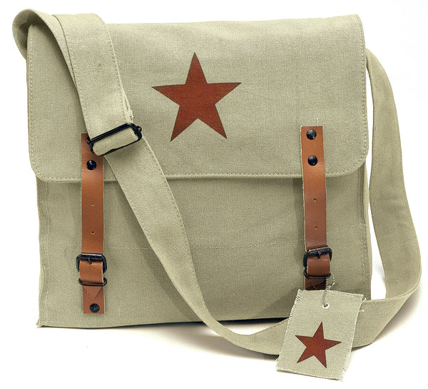 Canvas Classic Bag w/ Medic Star