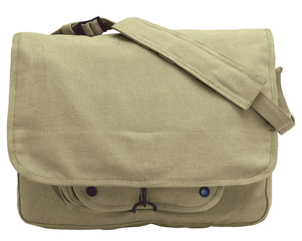 Vintage Canvas Paratrooper Bag - Delta Survivalist