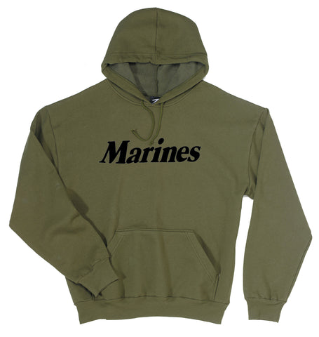 Marines Pullover Hooded Sweatshirt - Delta Survivalist