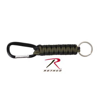 Paracord Keychain With Carabiner - Delta Survivalist