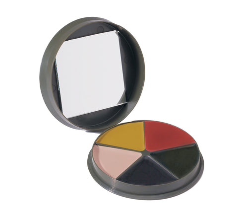 G.I. Type 5 Color Camo Face Paint Compact - Delta Survivalist