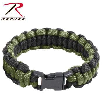 Two-Tone Paracord Bracelet - Delta Survivalist