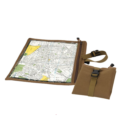 Camouflage Map and Document Case - Delta Survivalist