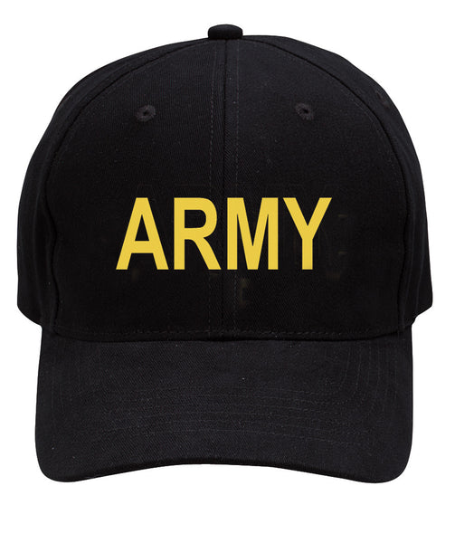 Black Army Low Profile Cap