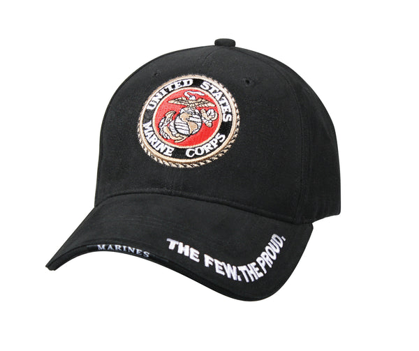 Deluxe Low Profile Cap With USMC Globe & Anchor Logo - Delta Survivalist