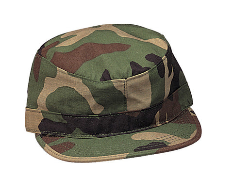 Kid's Military Fatigue Cap - Delta Survivalist