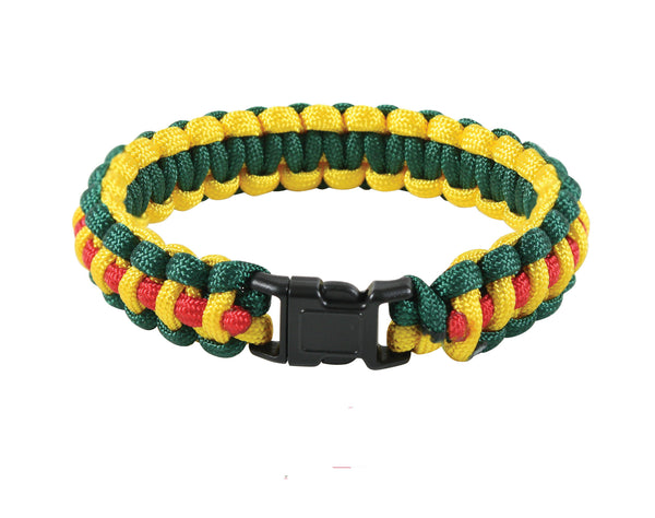 Multi-Colored Paracord Bracelet - Delta Survivalist