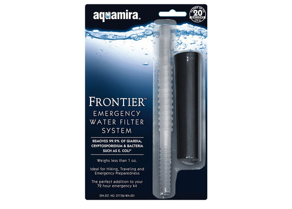 Frontier Emergency Water Filtration System
