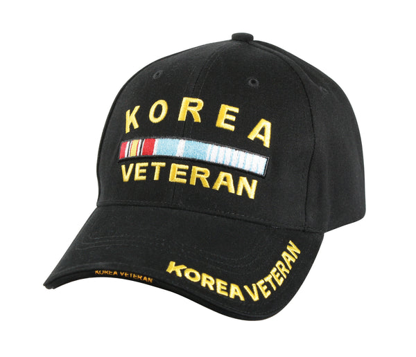 Deluxe Korea Veteran Low Profile Insignia Cap
