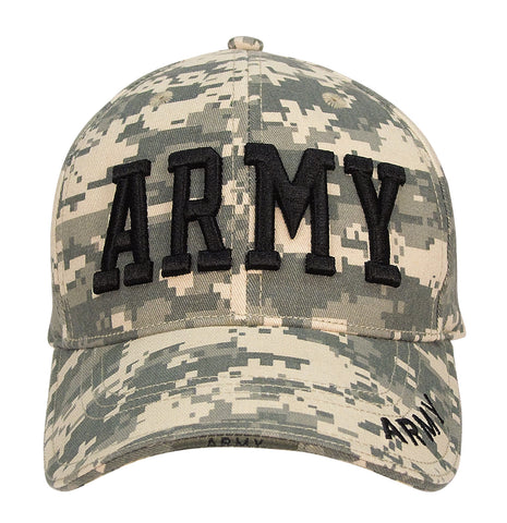 Army Embroidered Deluxe Low Profile Insignia Cap - Delta Survivalist