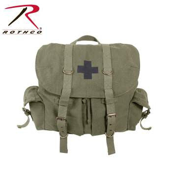 Compact Weekender Backpack With Cross - Delta Survivalist