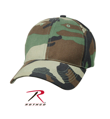 Kid's Camo Low Profile Cap - Delta Survivalist