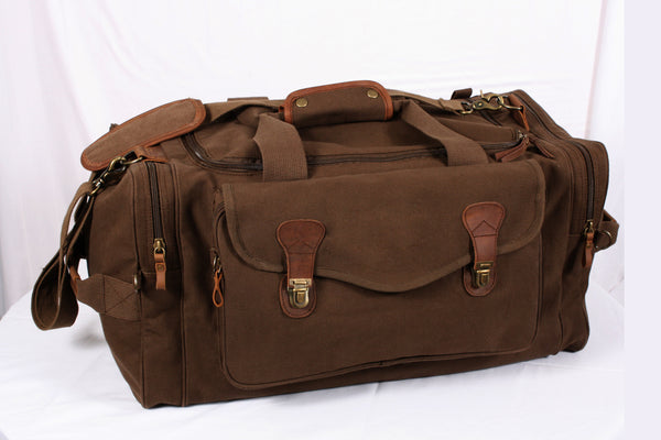 Canvas Long Weekend Bag - Delta Survivalist