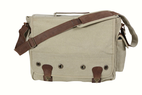 Canvas Trailblazer Laptop Bag - Delta Survivalist