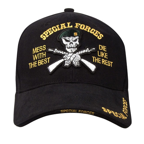 Deluxe Low Profile Special Forces Insignia Cap - Delta Survivalist