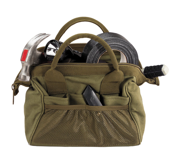 Heavyweight Canvas Platoon Tool Bag - Delta Survivalist
