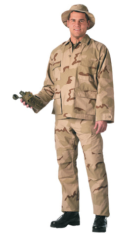 Tri-Color Desert SWAT Cloth BDU Pants - Delta Survivalist