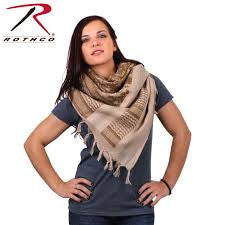 Camo Shemagh Tactical Desert Scarf - Delta Survivalist