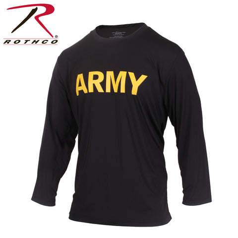 Long Sleeve Army PT Shirt - Delta Survivalist