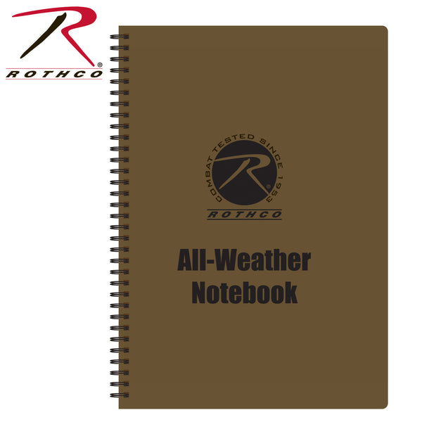 All Weather Waterproof Notebook - Delta Survivalist