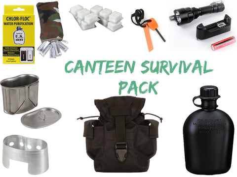 Canteen Survival Package - Delta Survivalist