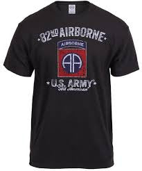 Distressed 82nd Airborne T-shirt
