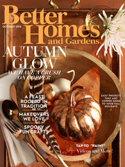 Better Homes and Gardens October 2016