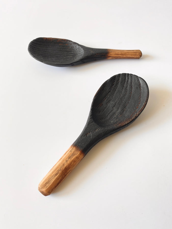 Oak Ramen Spoon