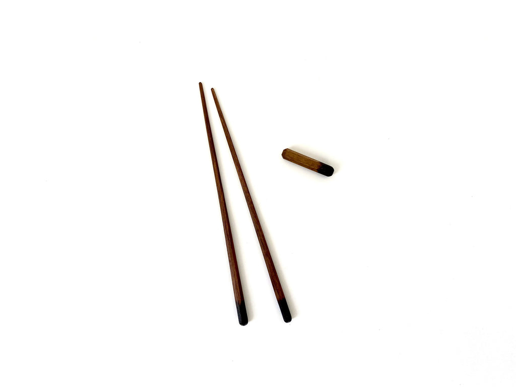 Dipped Chopsticks with Rest