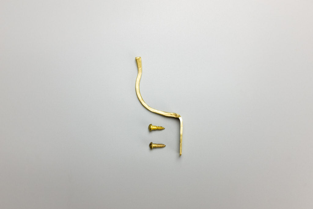 Forged Brass Hook