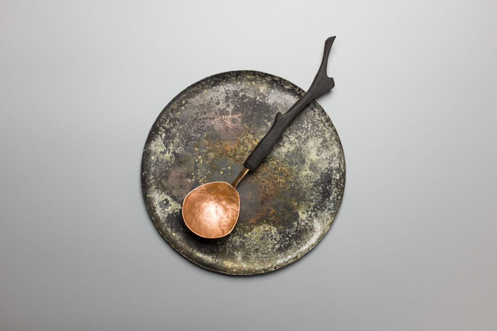 Copper Serving Spoon
