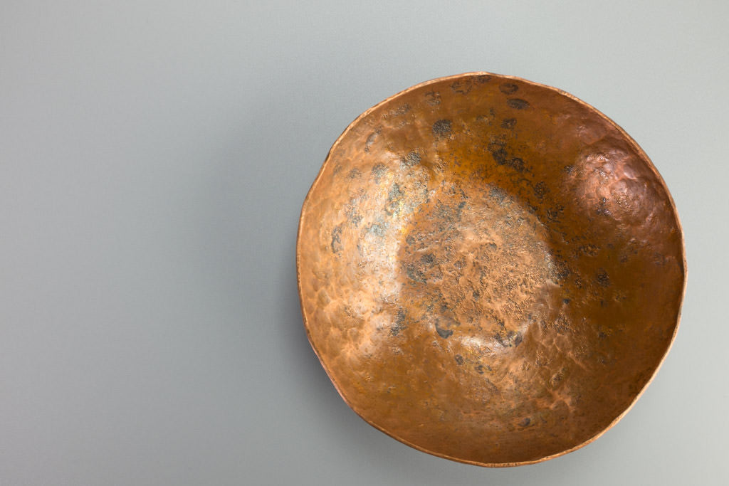 Hammered Bowl in Copper
